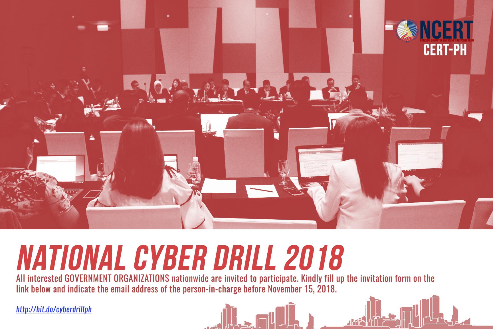 Cyberdrill 2018